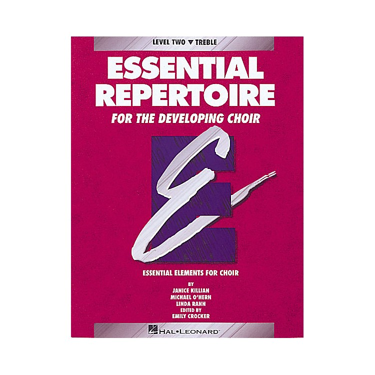 Hal Leonard Essential Repertoire for the Developing Choir Treble/Student 10-Pak Composed by Janice Killian