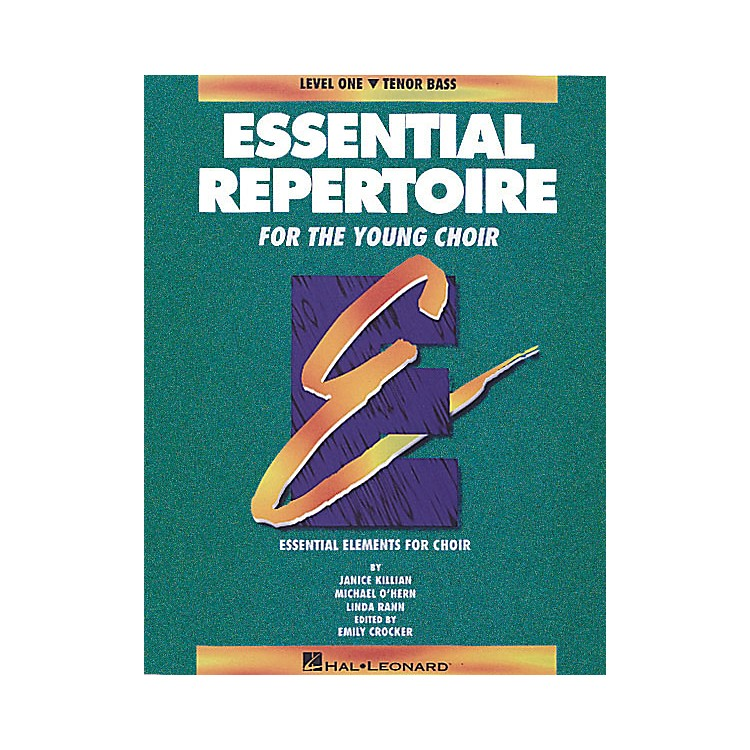Hal LeonardEssential Repertoire for the Young Choir Tenor Bass/Student 10-Pak Composed by Janice Killian