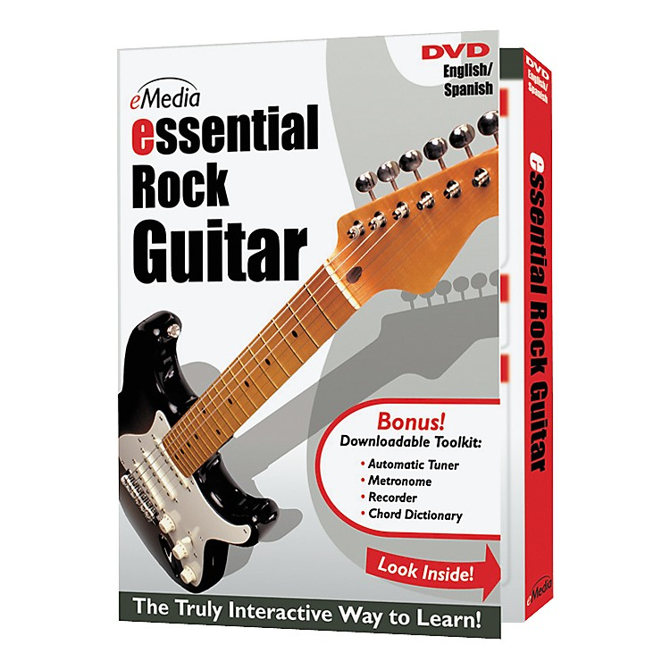 EmediaEssential Rock Guitar Instructional DVD