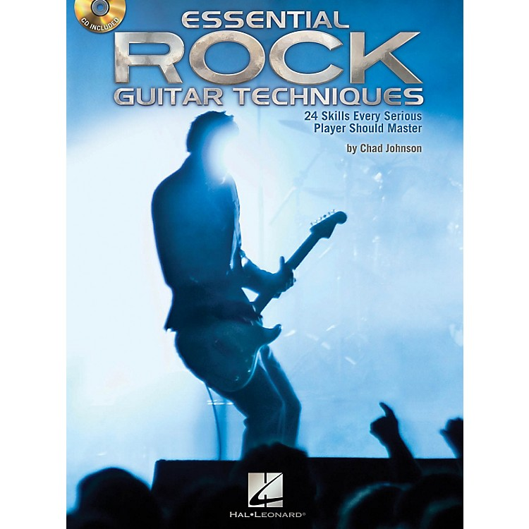 Hal Leonard Essential Rock Guitar Techniques 24 Skills Every Serious Player Should Master Book/CD