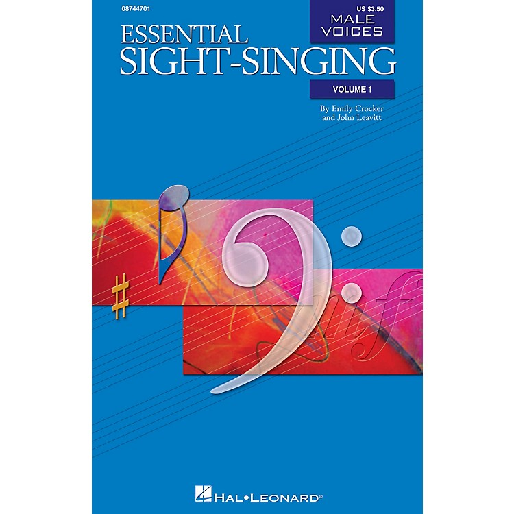 Hal LeonardEssential Sight-Singing Vol. 1 Male Voices (Male Voices Volume One Book) TB