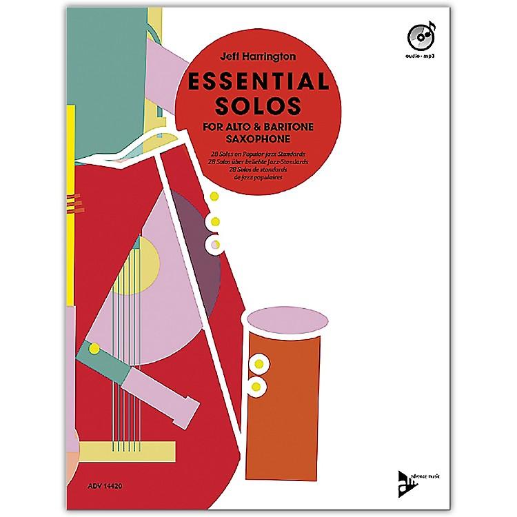 ADVANCE MUSICEssential Solos for Alto and Baritone Saxophone Alto/Baritone Saxophone Book & CD