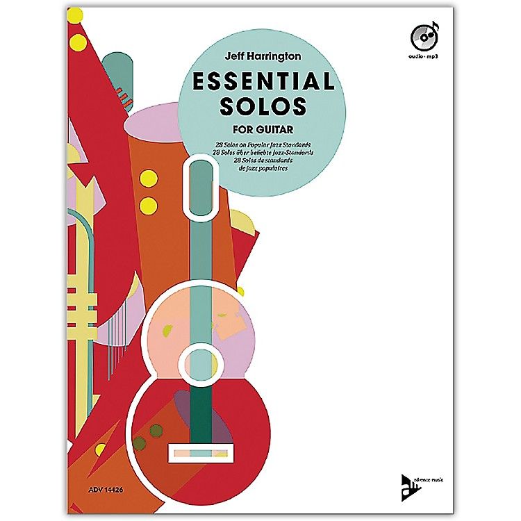 ADVANCE MUSIC Essential Solos for Guitar Book & CD