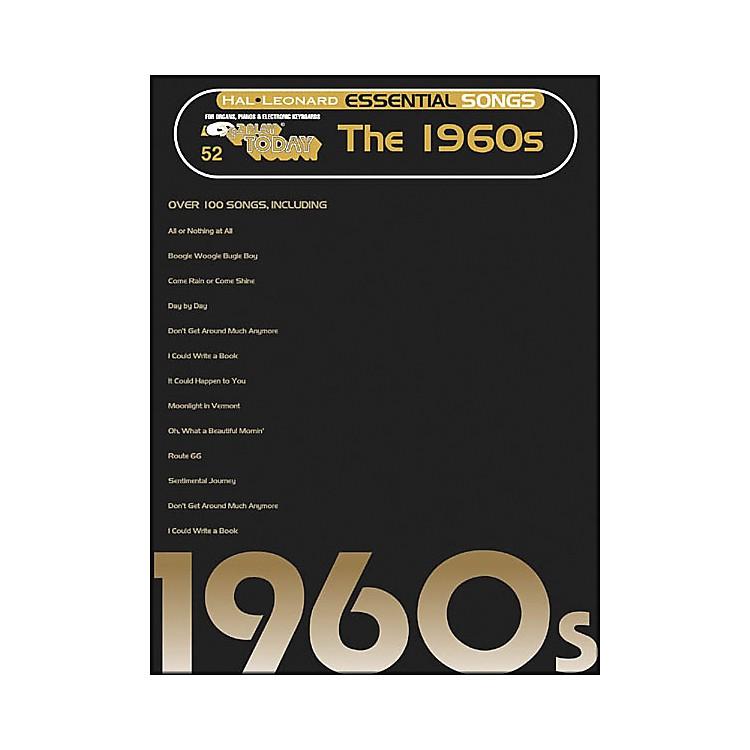 Hal LeonardEssential Songs - The 1960's E-Z Play 52