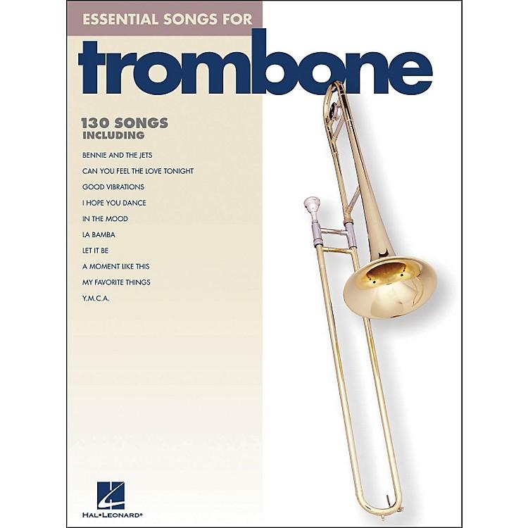 Hal LeonardEssential Songs For Trombone