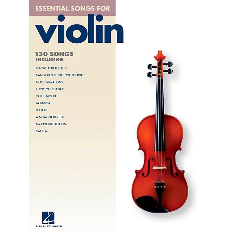 Hal LeonardEssential Songs For Violin