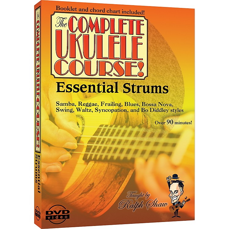 eMediaEssential Strums for the Ukulele DVD