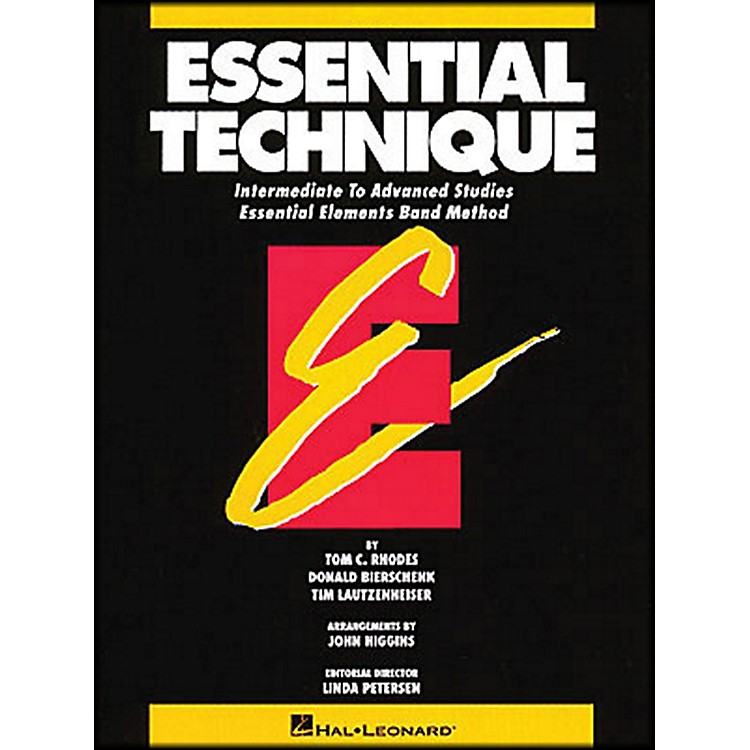 Hal LeonardEssential Technique B Flat Trumpet Intermediate To Advanced Studies