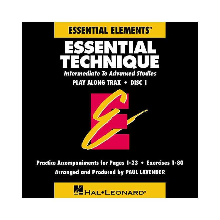 Hal LeonardEssential Technique (Original Series) (Play Along Trax (2-CD set)) Concert Band