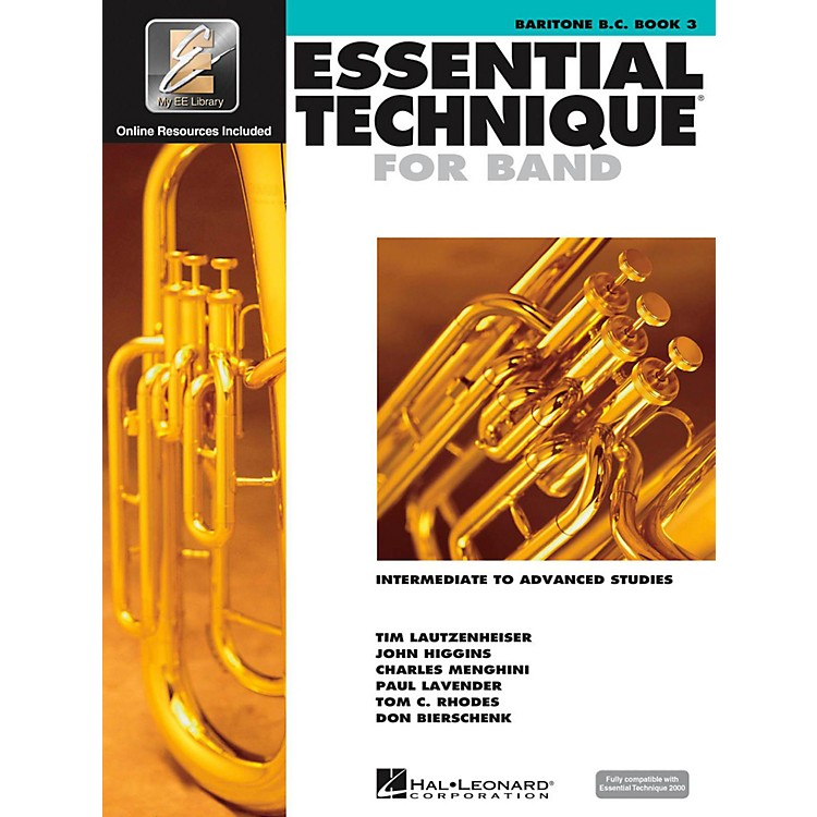 Hal LeonardEssential Technique for Band - Baritone B.C. 3 Book/Online Audio