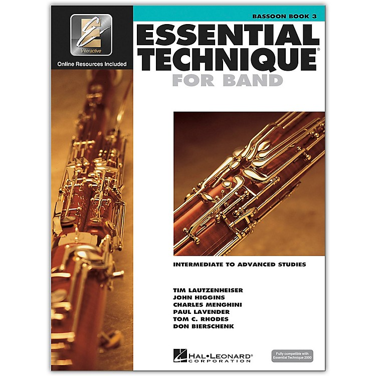 Hal LeonardEssential Technique for Band - Bassoon 3 Book/Online Audio