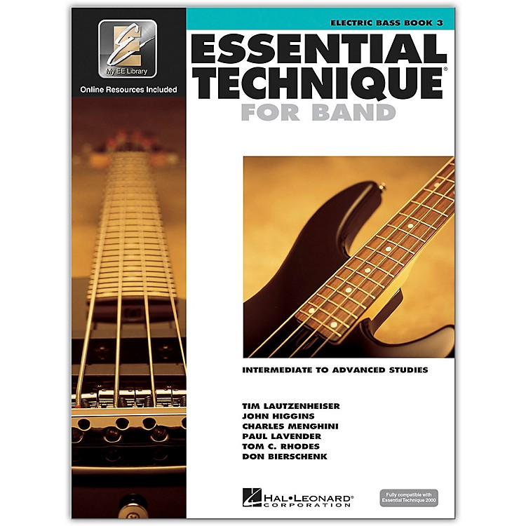 Hal LeonardEssential Technique for Band - Electric Bass 3 Book/Online Audio