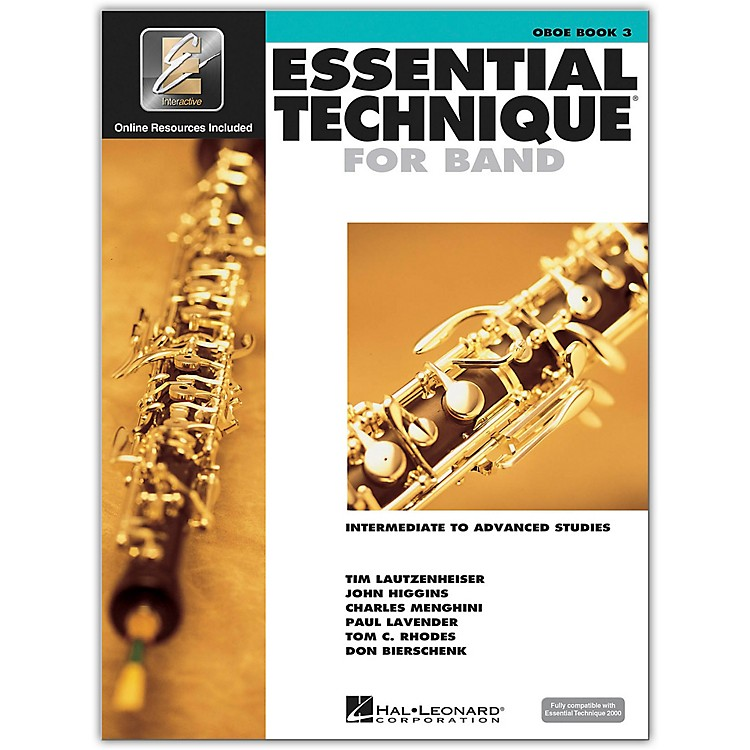 Hal Leonard Essential Technique for Band - Oboe 3 Book/Online Audio