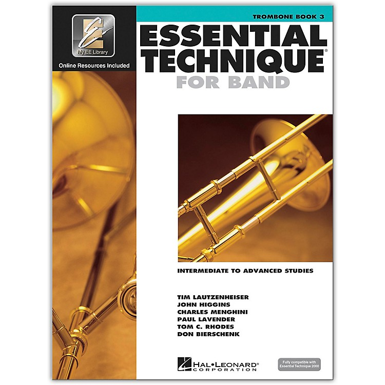 Hal LeonardEssential Technique for Band - Trombone 3 Book/Online Audio