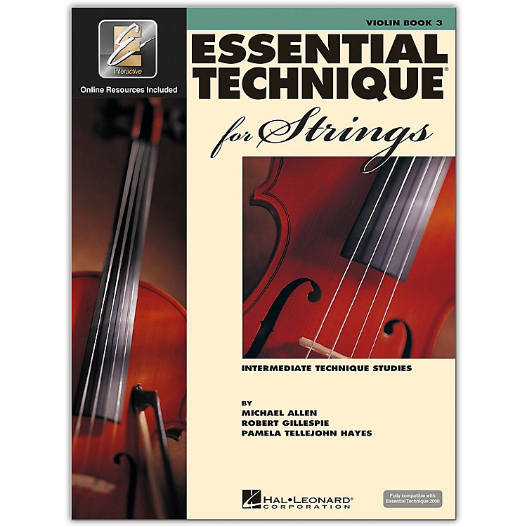 Hal Leonard Essential Technique for Strings - Violin 3 Book/Online Audio