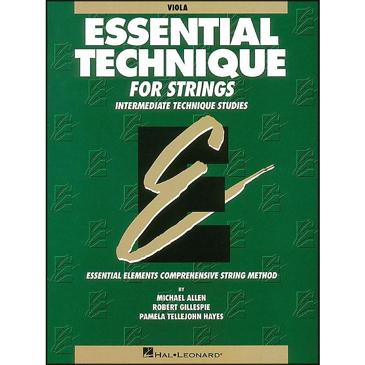 Hal LeonardEssential Technique for Strings Viola