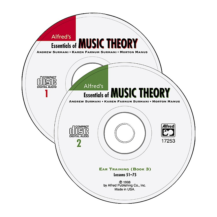 AlfredEssentials Of Music CD Book 1