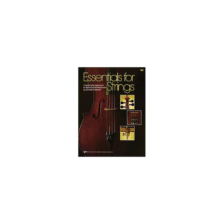 KJOSEssentials for Strings Violin Book