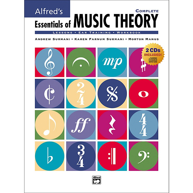 AlfredEssentials of Music Theory: Complete (Book/CD)
