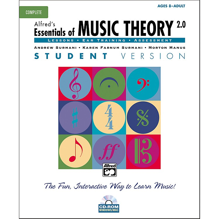 AlfredEssentials of Music Theory Student Version Complete (CD-ROM)
