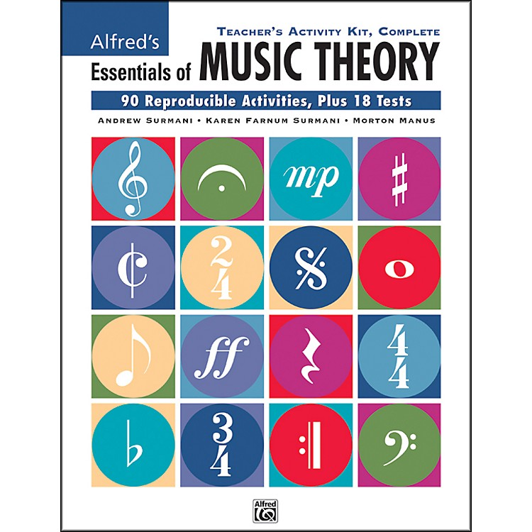 AlfredEssentials of Music Theory Teacher's Activity Kit Complete Complete