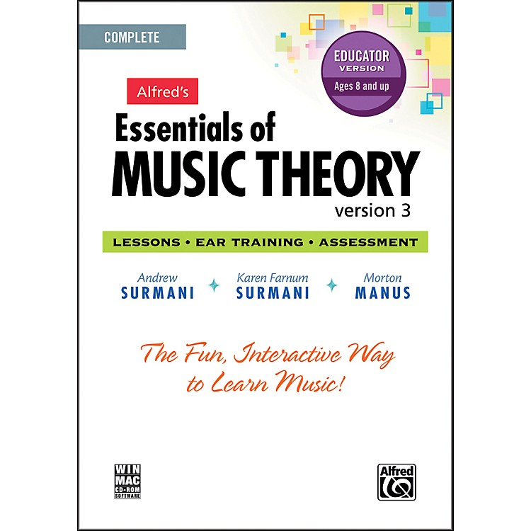 AlfredEssentials of Music Theory: Version 3 CD-ROM Educator Version Complete