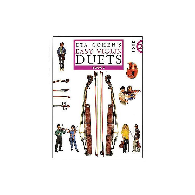 NovelloEta Cohen's Easy Violin Duets - Book 2 Music Sales America Series
