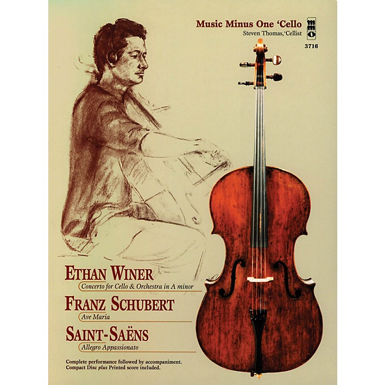 Music Minus OneEthan Winer, Franz Schubert, and Saint-Saëns Music Minus One Series Softcover with CD Composed by Various
