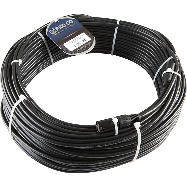 Pro Co Ethercon/Ethercon CAT5E 4P Shielded 100 ft.