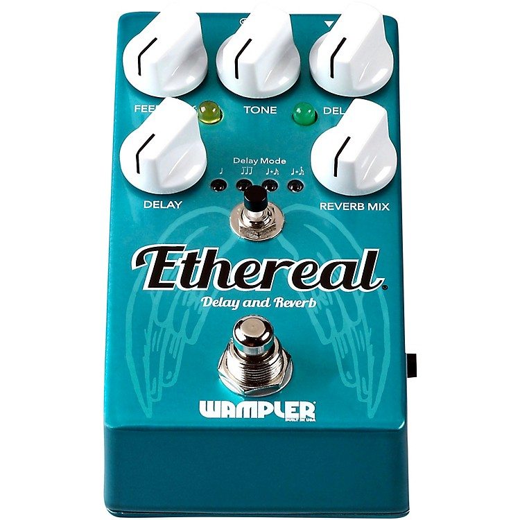 WamplerEthereal Delay and Reverb Effects Pedal