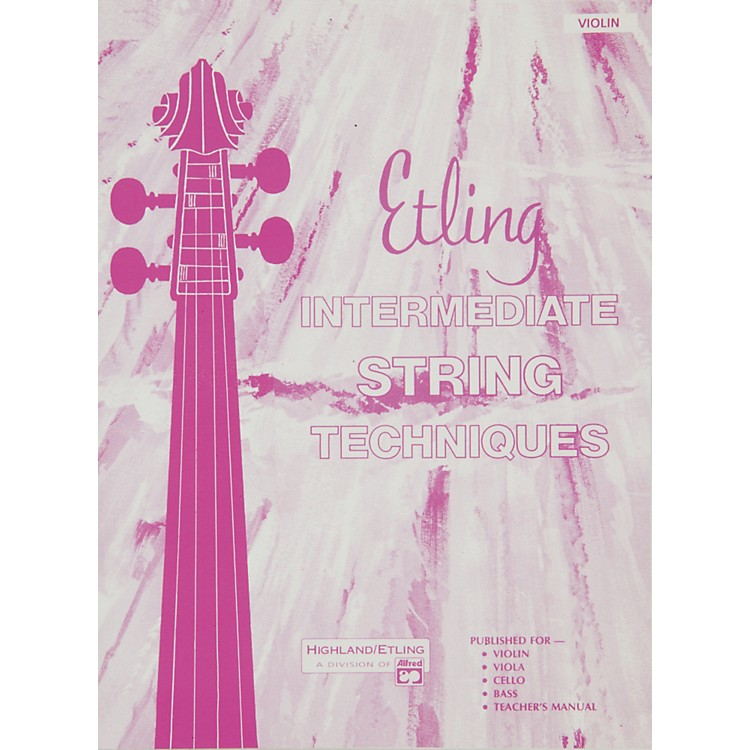 AlfredEtling String Class Method Book 2 Violin