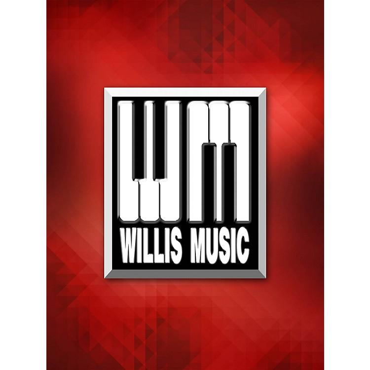 Willis MusicEtude in G Major (Toboggan Ride) (Early Inter Level) Willis Series by William Gillock