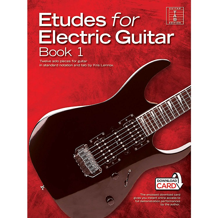 Music SalesEtudes for Electric Guitar - Book 1 Music Sales America Series Softcover Audio Online