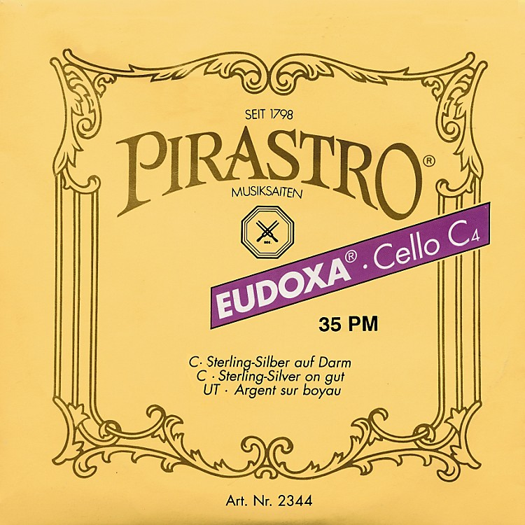 PirastroEudoxa Series Cello D String4/4 - 24-1/2 Gauge