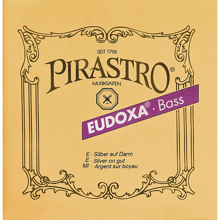 Pirastro Eudoxa Series Double Bass String Set 3/4
