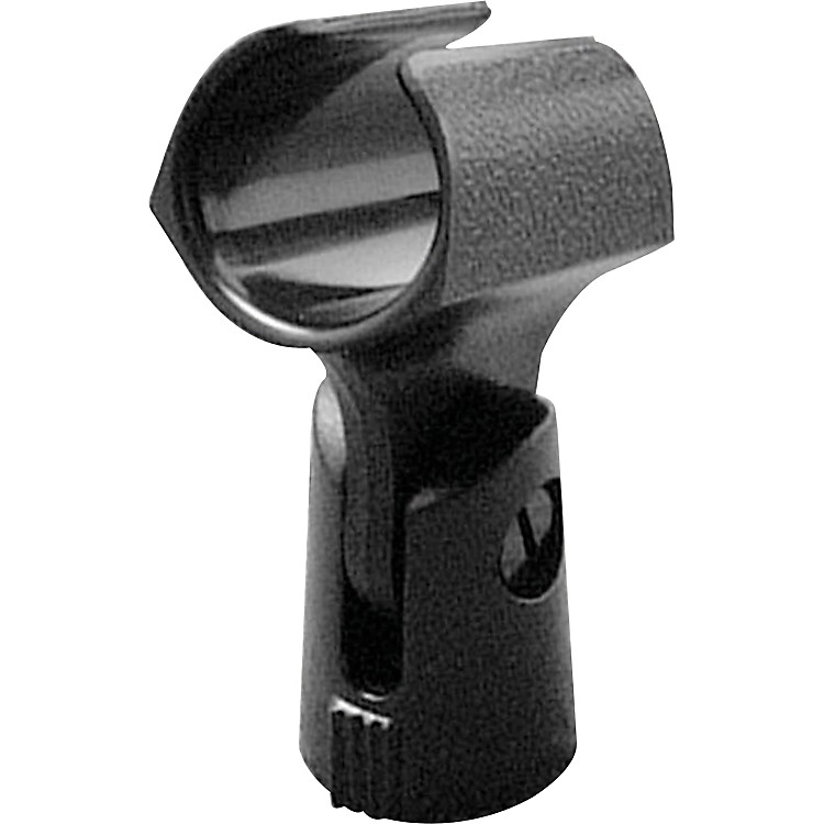 On-Stage Euro-Style Plastic Mic Clip Black