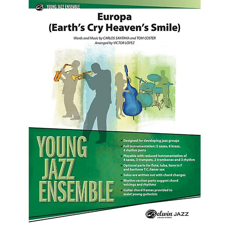 AlfredEuropa (Earth's Cry Heaven's Smile) Jazz Band Grade 2 Set