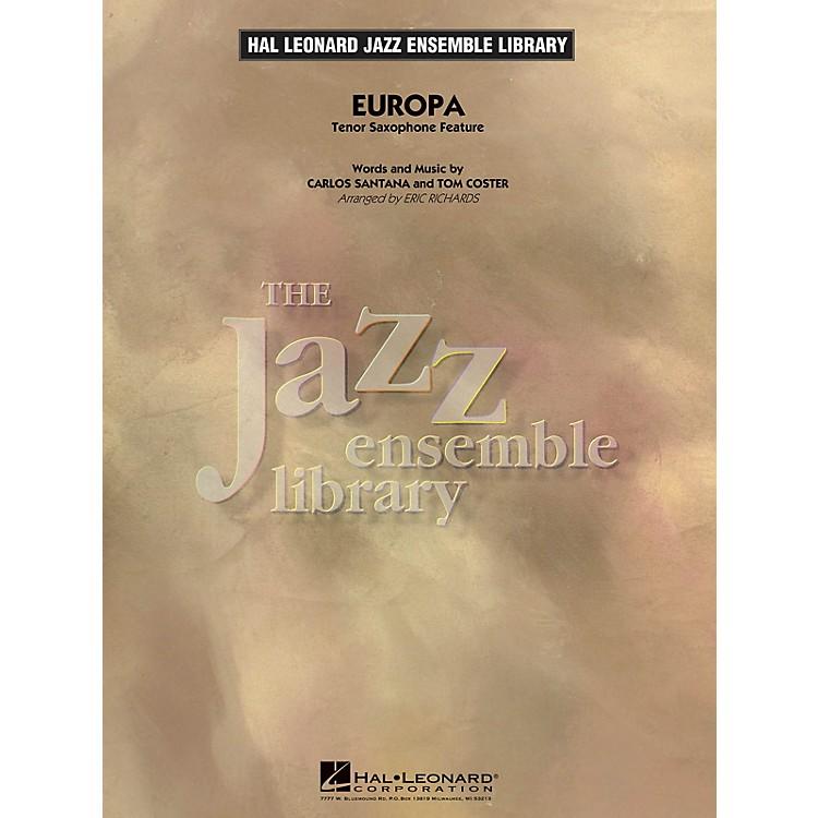 Hal LeonardEuropa (Tenor Sax Feature) Jazz Band Level 4 Arranged by Eric Richards