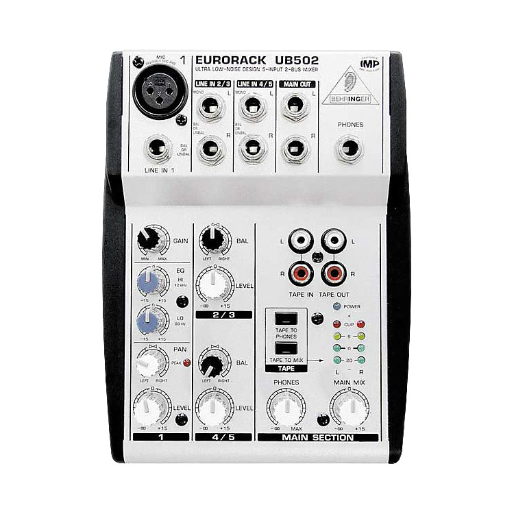 Behringer Eurorack UB502 5-Channel Compact Mixer
