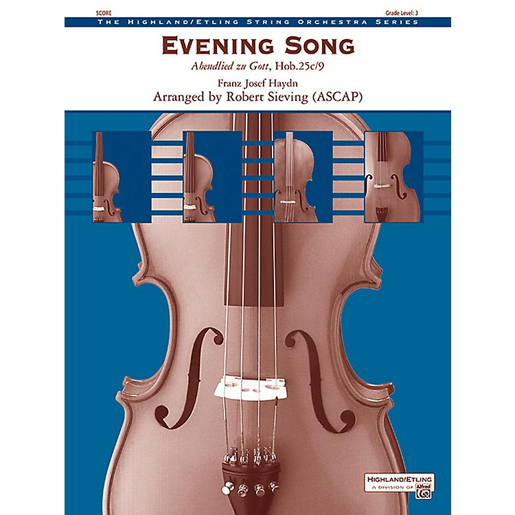 AlfredEvening Song String Orchestra Grade 3