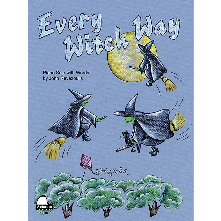 SCHAUMEvery Witch Way Educational Piano Series Softcover