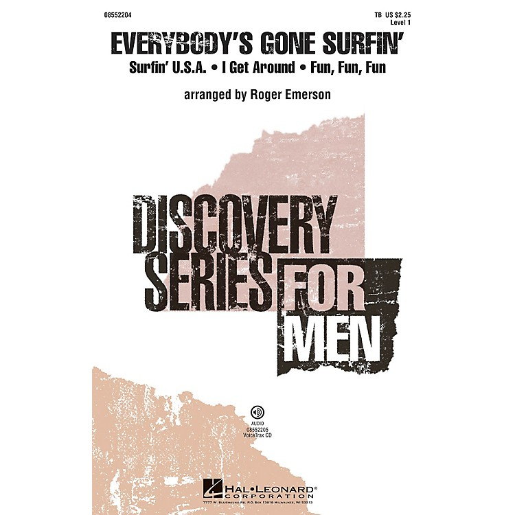 Hal LeonardEverybody's Gone Surfin' (Discovery Level 1) TB arranged by Roger Emerson