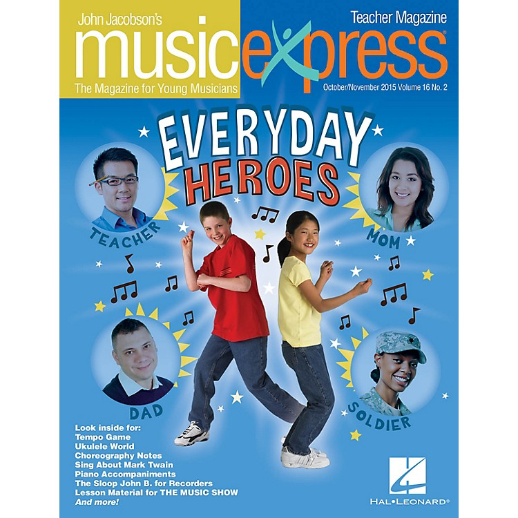 Hal Leonard Everyday Heroes Vol. 16 No. 2 Teacher Magazine w/CD by Elvis Presley Arranged by Roger Emerson