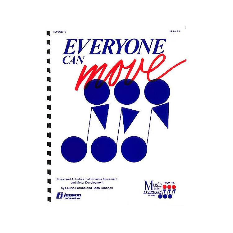 Hal Leonard Everyone Can Move (Collection for Special Learners) TEACHER ED Composed by Laurie Farnan