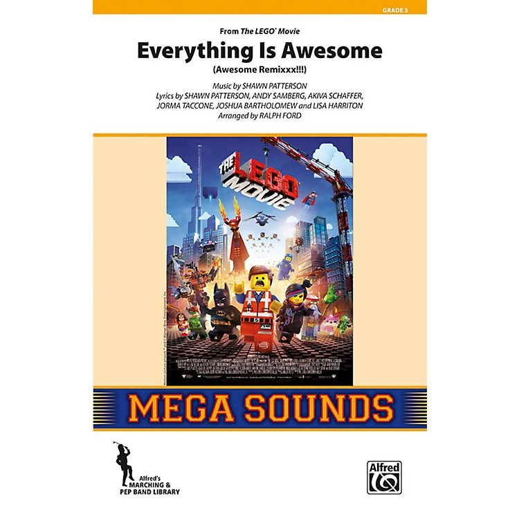 AlfredEverything Is Awesome (from The Lego Movie) Grade 3 (Medium)