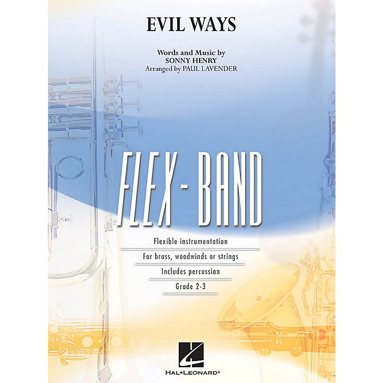 Hal Leonard Evil Ways Concert Band Level 2-3 Arranged by Paul Lavender