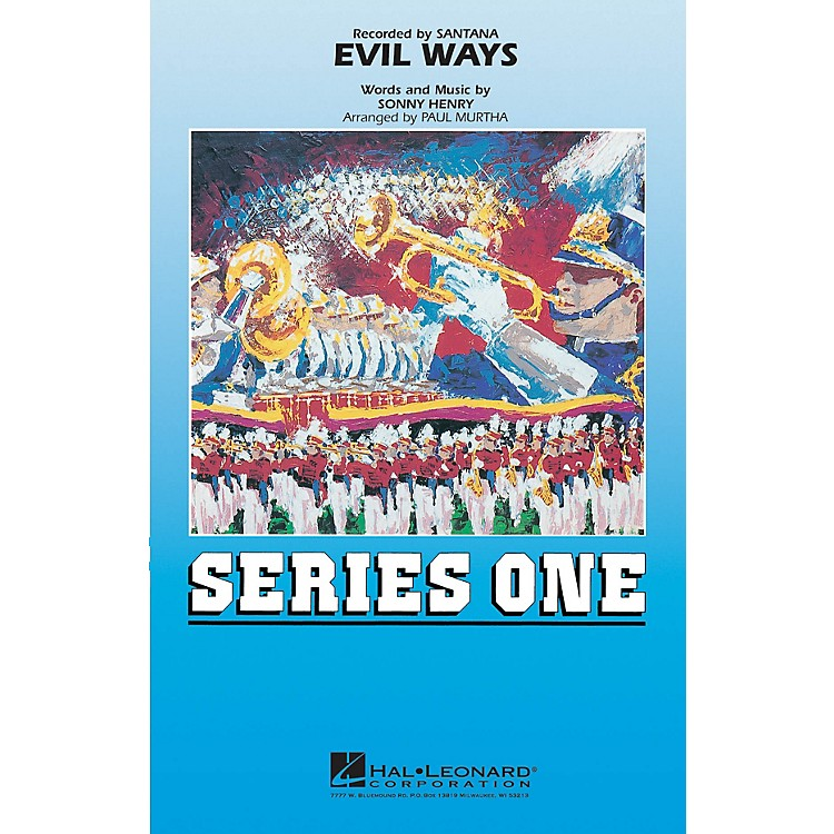 MCAEvil Ways Marching Band Level 2 by Santana Arranged by Paul Murtha