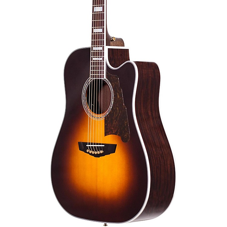 D'AngelicoExcel Bowery Acoustic-Electric GuitarGrey Black