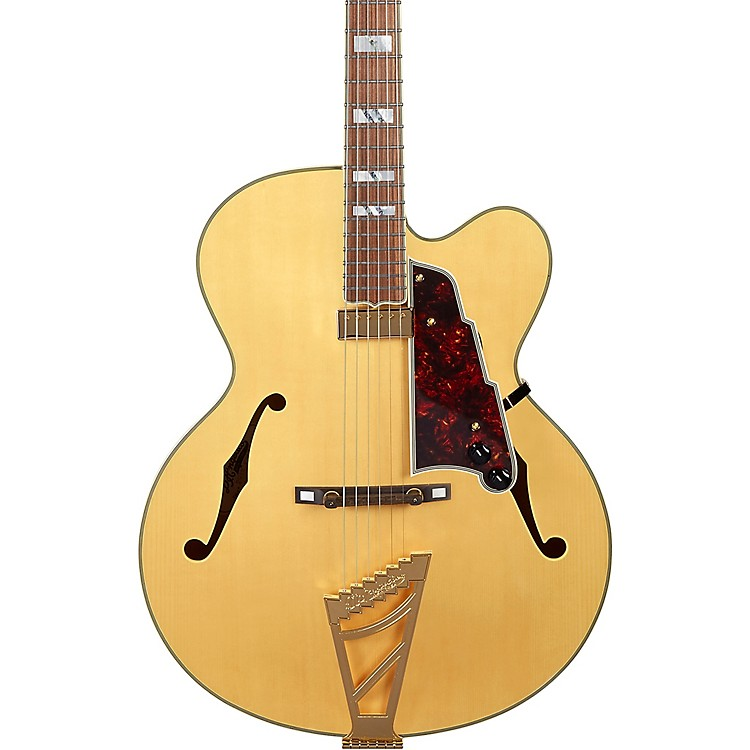 D'AngelicoExcel EXL-1 Hollowbody Electric Guitar with Stairstep TailpieceNatural