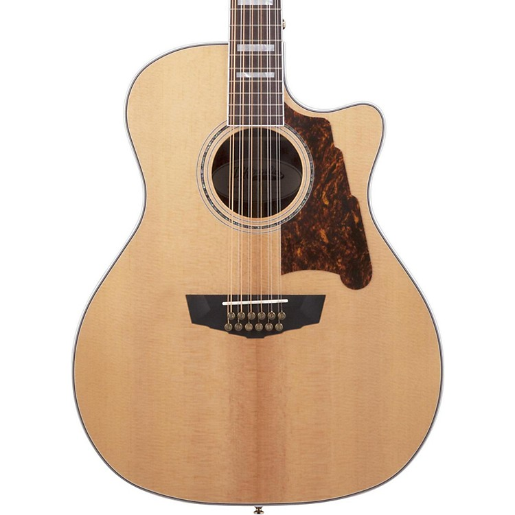 D'Angelico Excel Fulton 12-String Acoustic-Electric Guitar Natural